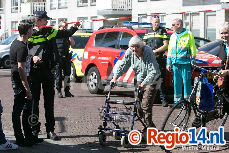 Gaslek Reigerstraat Hilversum