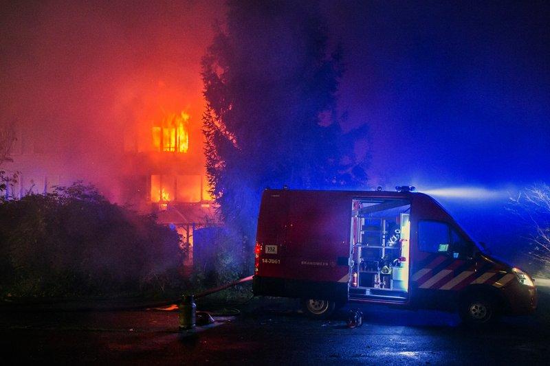 Grote brand Kloosterlaan Hilversum_07nov2015_2677