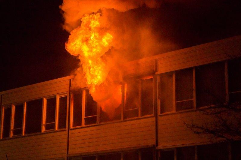 Grote brand Kloosterlaan Hilversum_07nov2015_2720