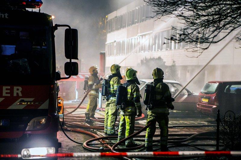 Grote brand Kloosterlaan Hilversum_07nov2015_2748