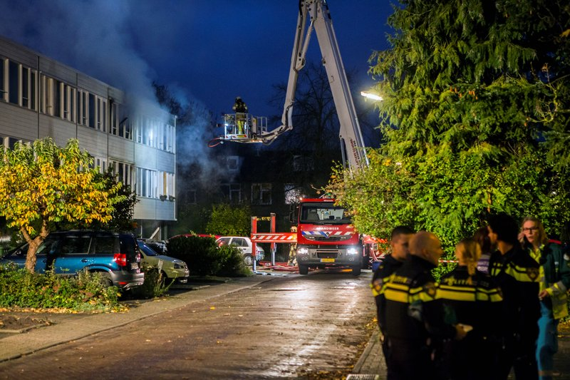 Grote brand Kloosterlaan Hilversum_07nov2015_2764