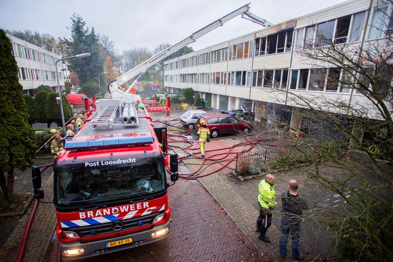 Grote brand Kloosterlaan Hilversum_07nov2015_2848