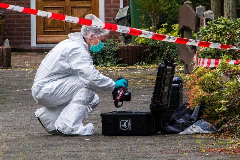 Politie-onderzoek op Comeniushof Hilversum_06nov2015_2614