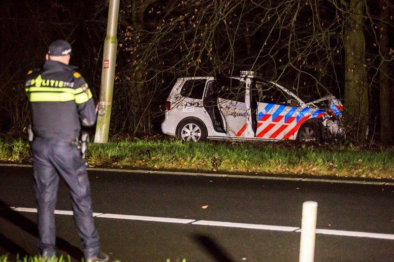 Ongeval Politieauto Eemnes_20dec2015_3383