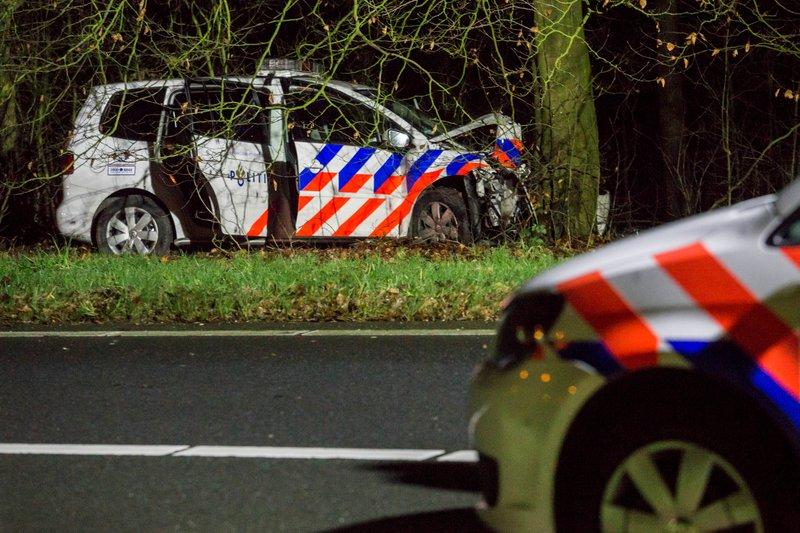 Ongeval Politieauto Eemnes_20dec2015_3426