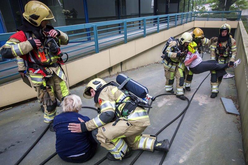 10mei2016_Brandweer oefening Vreelandseweg Hilversum_6471